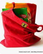 Scuola di cucito: fare borse porta tutto con una sola cucitura