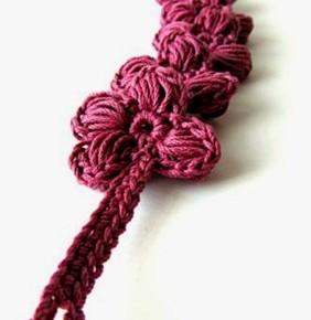 Ancora braccialetti cotone + uncinetto: il rosa antico