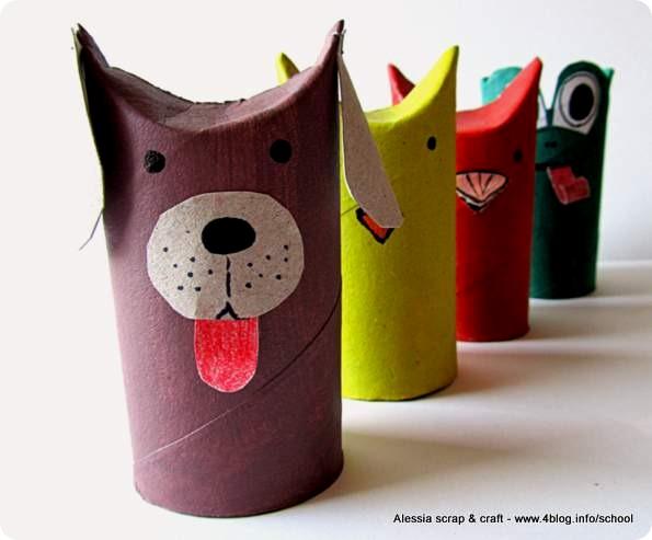Animali Con Tubi Di Carta Igienica : Animali fattoria con rotoli di carta igienica rotoli di carta