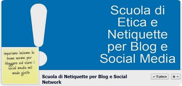E' nata la Scuola di Netiquette per Blog e Social Media