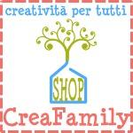 Nasce CreaFamily e diventa sponsor di Alessia scrap & craft