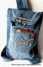 Scuola di Cucito: lo zainetto fatto con i vecchi jeans