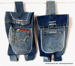 Riciclare il jeans: ecco il secondo zainetto!