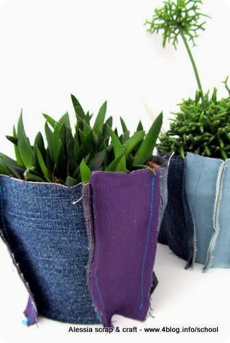 Creare decorare e arredare con i tessuti copri vaso di for Arredare coi tessuti