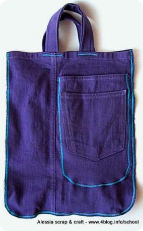 Le borse con il nome di TUC: arriva Viola - Alessia, scrap & craft ...