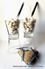 Riciclare bicchieri: porta confetti e porta caramelle DIY