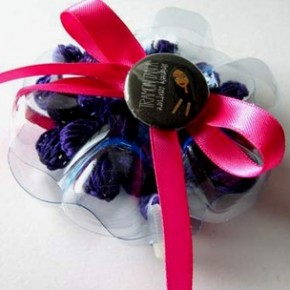 Scatoline porta bijoux di plastica riciclata Gelly Box