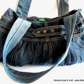 Scuola di Cucito: costruire borse con 5 cuciture riciclando gonnelline