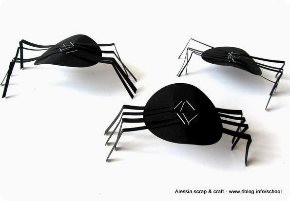 Arriva Halloween: facciamo i ragni di carta