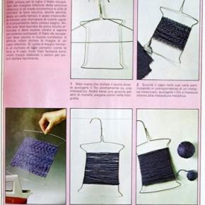 Scuola di maglia uncinetto vintage: recuperare la lana usata