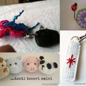 Pattern Wanted di ottobre: portachiavi a crochet