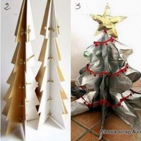4 idee per alberi di Natale ecologici e fai da te