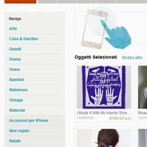 Una novità strepitosa: Etsy è in italiano!
