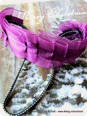 Countdown Natale: tutorial segnalibro a rouches