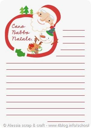 Babbo Natale Letterine.Conuntdown Natale Letterine Per Babbo Natale Da Scaricare Alessia