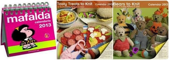 Calendari 2013 da stampare e calendari da comprare