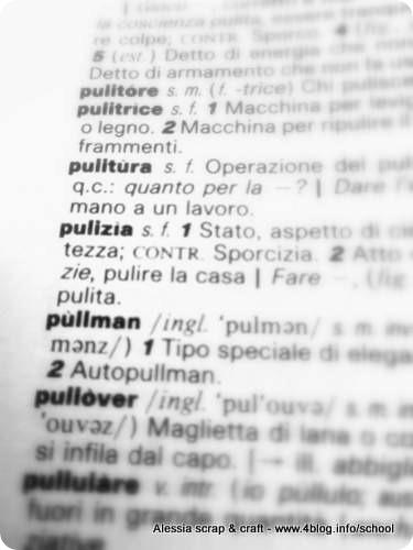 Pulizie, plurale femminile o no!? #angoliocurve