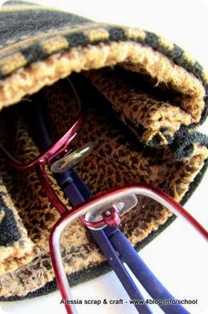 Countdown Natale: porta occhiali unisex come regalo DIY