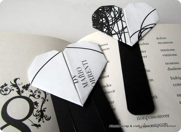 Countdown Natale: regali faidate segnalibri carta riciclata e origami