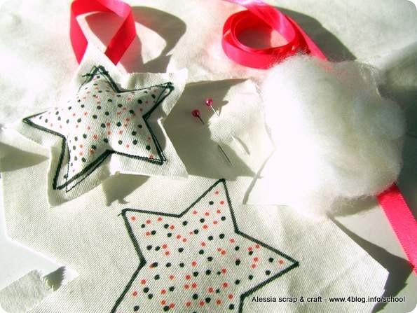 Countdown Natale: decorazioni imbottite per l'albero