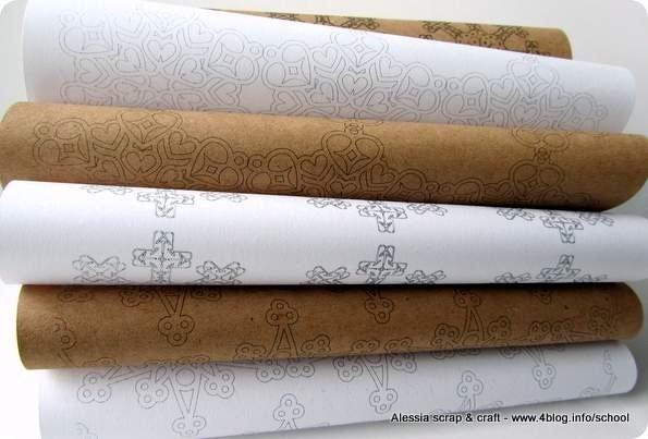 Countdown Natale: carta da stampare per i pacchetti