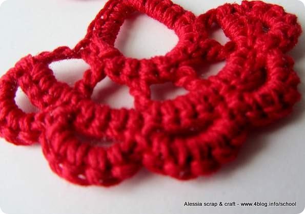 Scuola di uncinetto: tutorial orecchini crochet facili facili