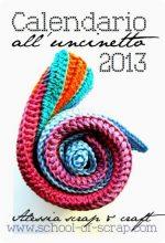 Buon 2013 con il Calendario all'uncinetto