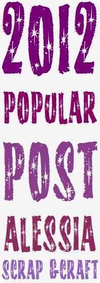 Il meglio del 2012 su Alessia scrap & craft