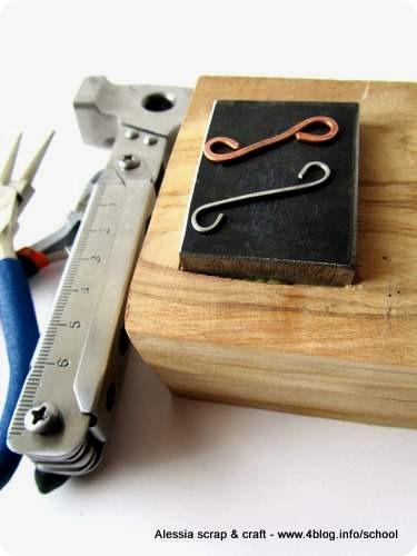 Bijoux e metalli: creare la base per martellare