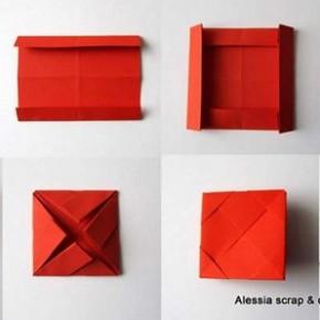 Portafotografie veloce origami per SanValentino e altre occasioni