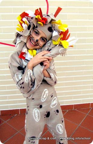 Maschere faidate: Famiglia del Circo per Barilla