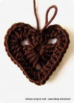 San Valentino: tutorial cuori granny all'uncinetto