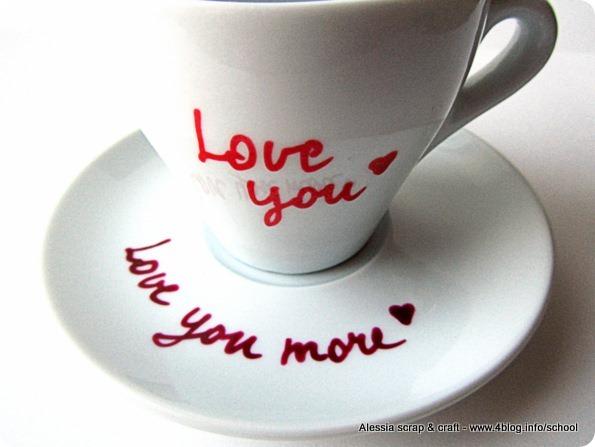 Regali di San Valentino: la MUG con messaggi d'amore