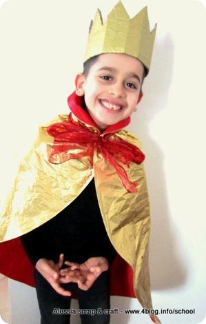 Maschere Carnevale faidate veloci: re o principe