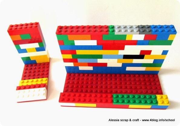 ECO CRAFT TOUR: stand smartphone e tablet con vecchi Lego