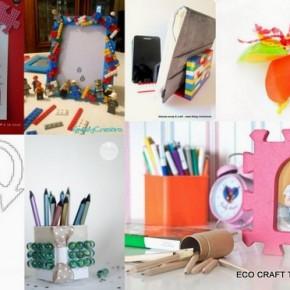 ECO CRAFT TOUR marzo 2013 idee per riciclare giocattoli