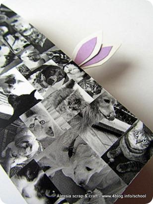 Lavoretti di Pasqua: segnalibro con orecchie da coniglio