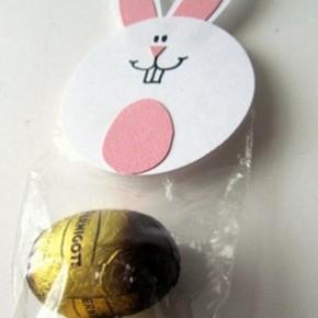 Lavoretti di Pasqua: il coniglietto porta ovetti