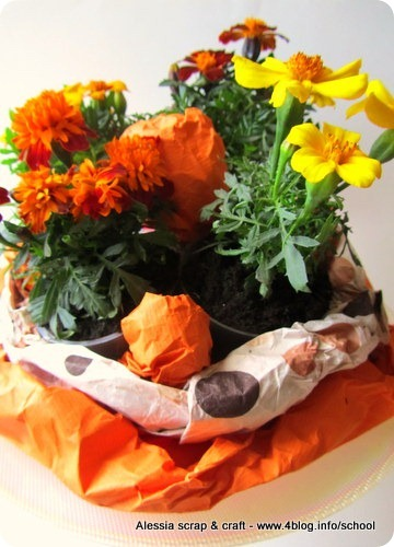 Decorazioni di Pasqua: il centrotavola fiorito