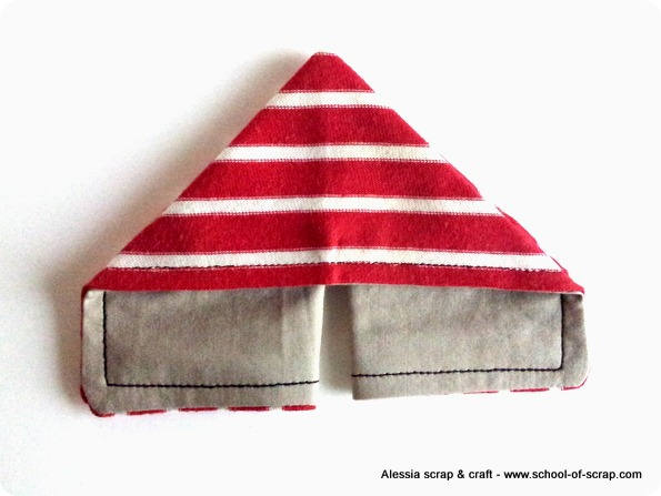 Scuola di cucito: facciamo le farfalle origami di stoffa