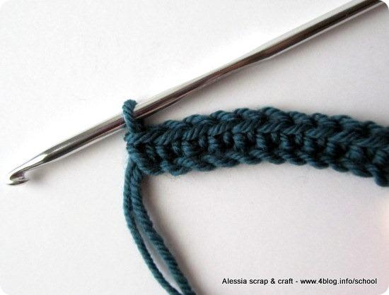 Scuola di Uncinetto: come fare la maglia bassa