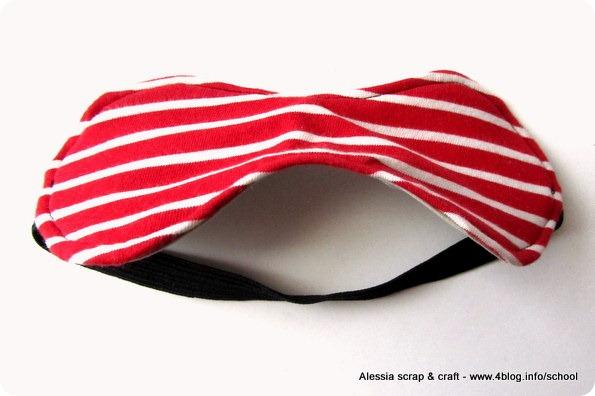 Scuola di Cucito: sleep mask, facciamo una mascherina per dormire