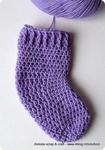 Calzettoni a crochet: in preparazione il pattern per bambini