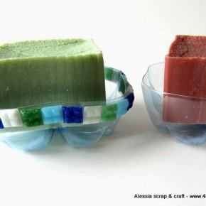Riciclo creativo: portasapone con le bottiglie di plastica