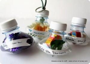 Eco Craft Tour: ciondoli portachiavi con bottiglie