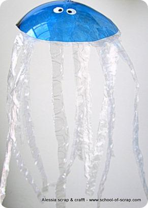 Lavoretti con i bambini: facciamo le meduse