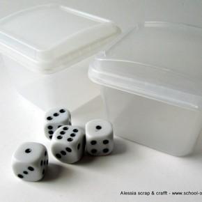 Bambini: dadi in scatola che non si perdono più