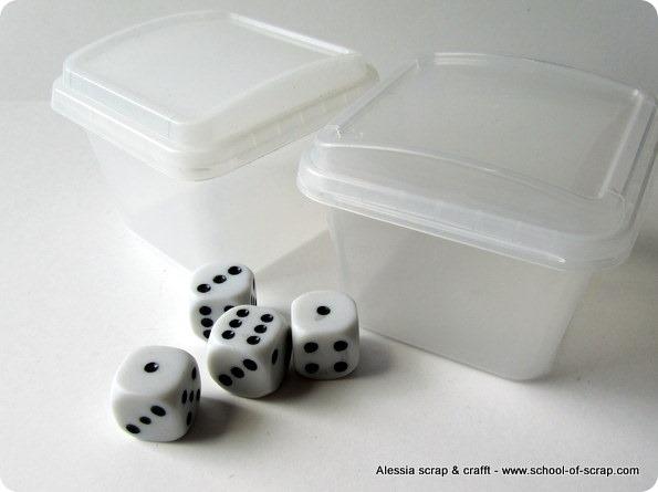 Bambini: i dadi in scatola non si perdono più