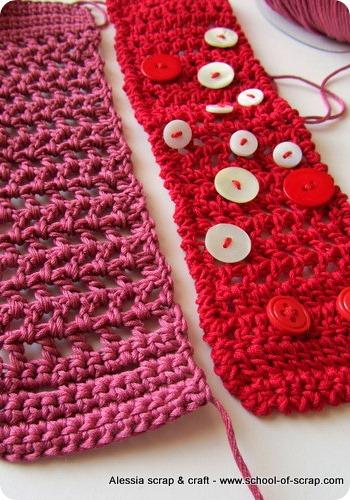 Appuntamento per fare insieme il braccialetto a crochet