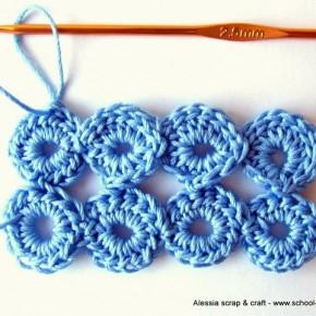 Scuola di uncinetto: il punto Bolla (Bubble Stitch)